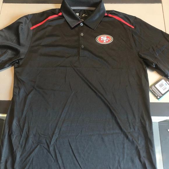 nike 49ers polo shirt